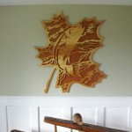 Forest Leaf plywood project