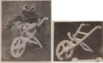 Planter Cart vintage woodworking plan.