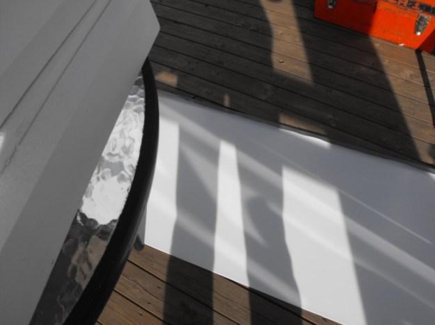 Sunroom glass install 2
