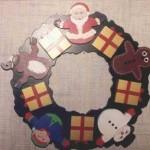 Christmas wreath scrollsaw project