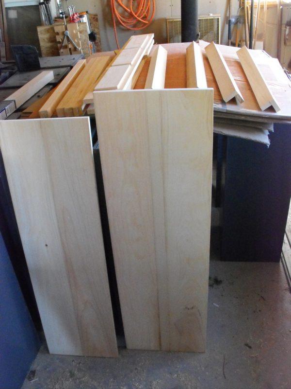Pine sofa table.