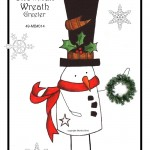 49-MB014 - Snowman Wreath Holder