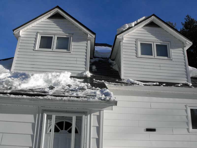 roof maintenance,aluminium roof,snow,ice control