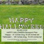 Yard Art Halloween Boneyard Alphabet Letters and Numbers Woodworking Plans for Projects