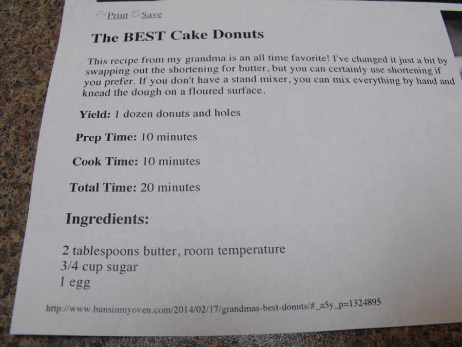 Jim Bits cake donuts