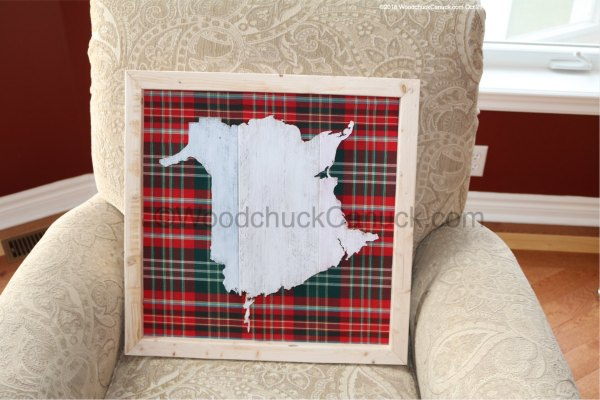 New Brunswick,NB,wood crafts,tartan cloth