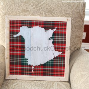 New Brunswick,NB,wood crafts,tartan cloth