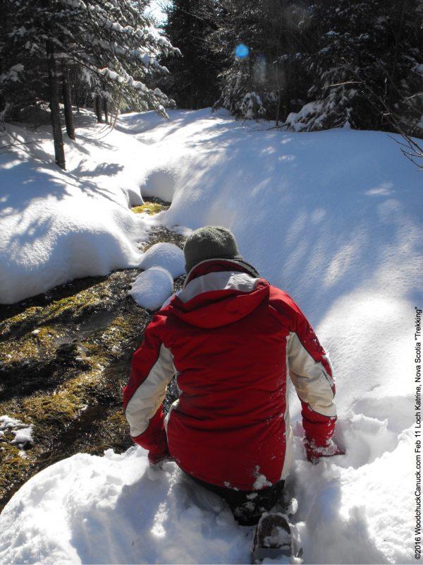 winter,Loch Katrine, Nova Scotia