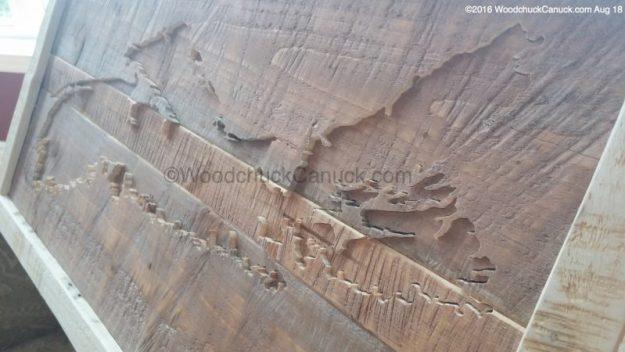 scrollsawing,wooden maps,crafts,Nova Scotia