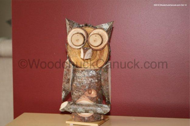 wood pile,animals,owls,primitive crafts