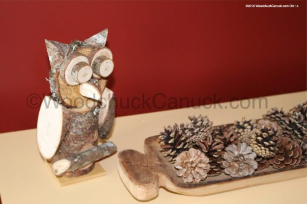 wood pile,animals,owls,primitive crafts