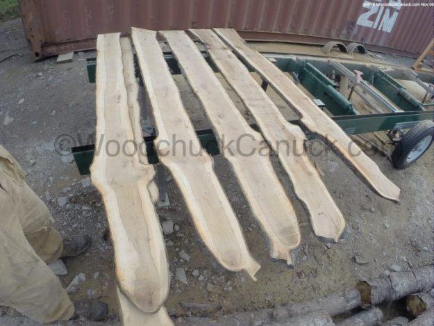 wood slabs,sawmilling