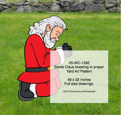 Santa Claus,giving thanks,praying,prayer