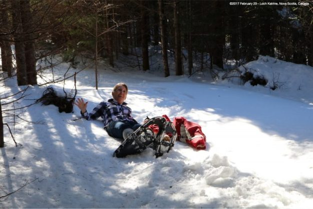 snow shoeing, Nova Scotia