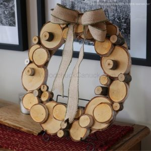 wooden wreaths, hand crafted,Made in Nova Scotia, Made in Maritimes, Made in Canada,birch trees