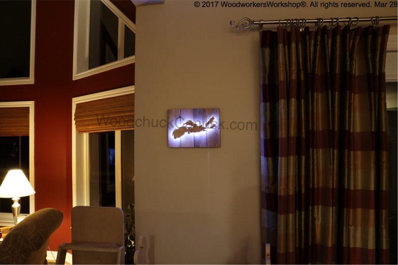 back lit wood maps,LEDs,Nova Scotia,topography,pallet projects
