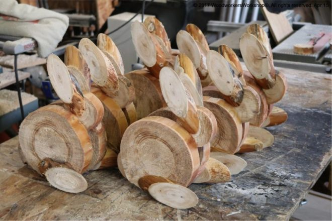 woden bunny rabbits, crafts,woodworking
