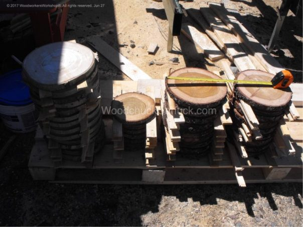 Tamarack,Larch,Poplar,wooden discs, cookies,plates,rustic,made in Nova Scotia