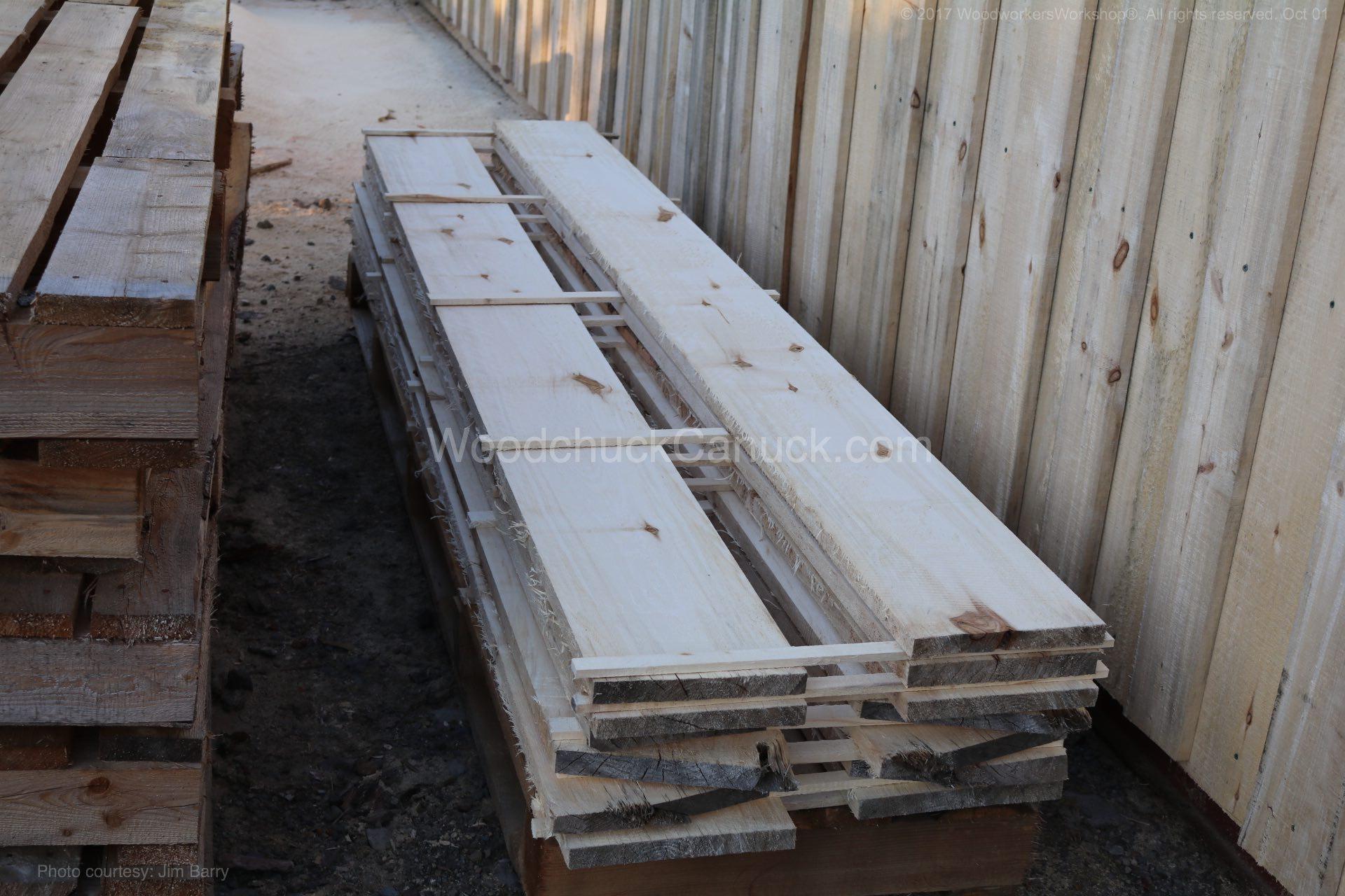 "10"" poplar plank boards"