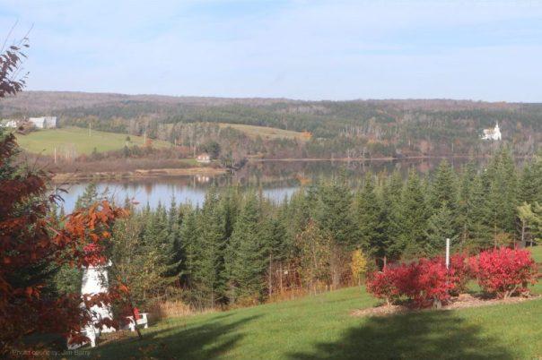 view,lake,sawmill