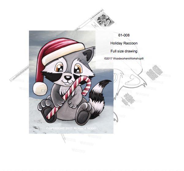 raccoons,Christmas displays,holidays,yard decor,animals,wildlife