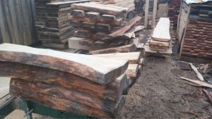 stacks of wood bowl blanks