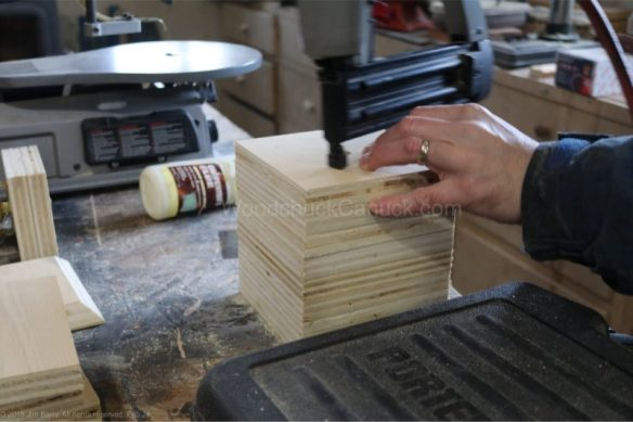 square lamp,plywood