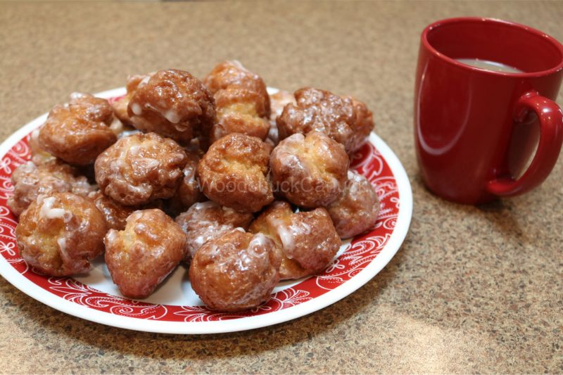 sour cream donuts,donut bits