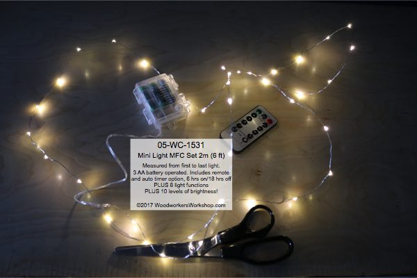 wedding table lights,fairy lights,mini lights,glass droplets,LED Mini Light Set 2 m Warm White MFC with Remote