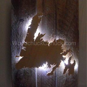 Newfoundland,arts and crafts,lighting,backlit,made in Nova Scotia,Maritimes