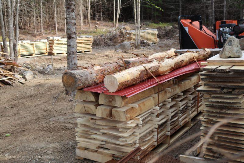 spruce lumber,rough lumber,stud wood,saw milling, Antigonish county,Nova Scotia