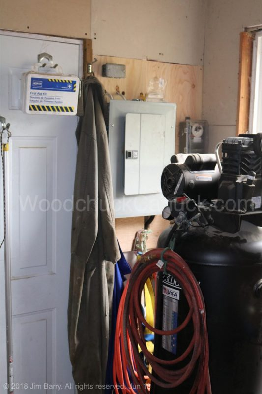 electrical upgrade, saw milling,workshop,renovations