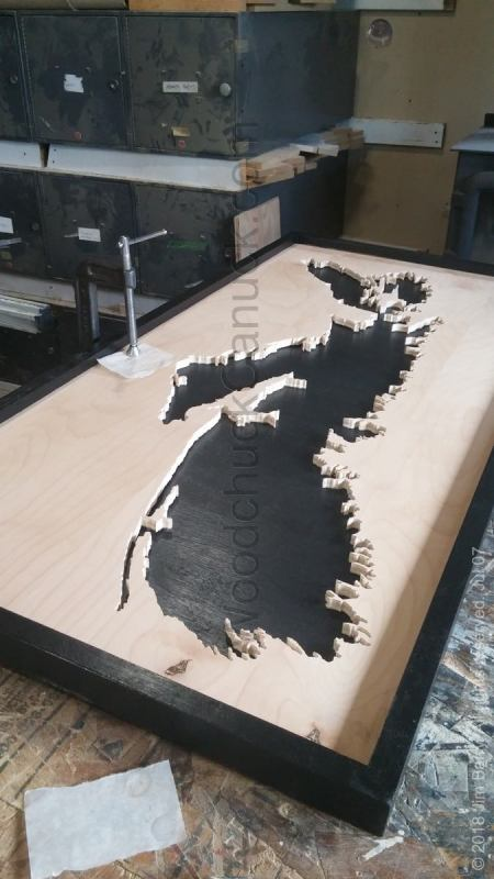 woodworking projects,wooden maps of the Maritimes,made in Nova Scotia,Antigonish County