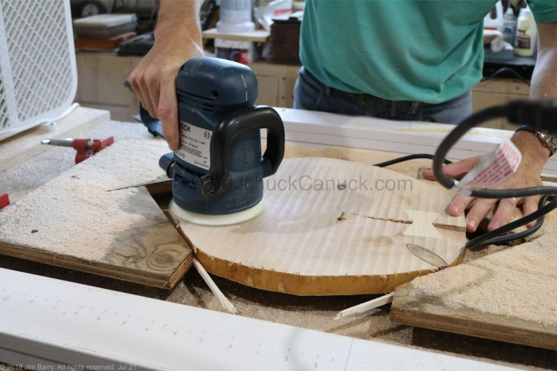 woodworking,sanding end grain,hand crafted,Nova Scotia