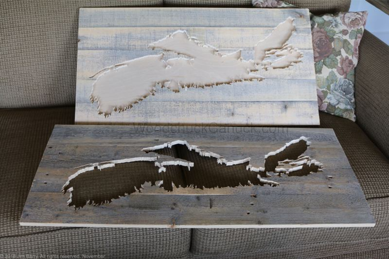 wood maps,ns maps,scroll saw
