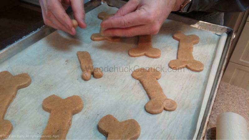 dog biscuits, dog treats, peanut butter cookies, Nova Scotia