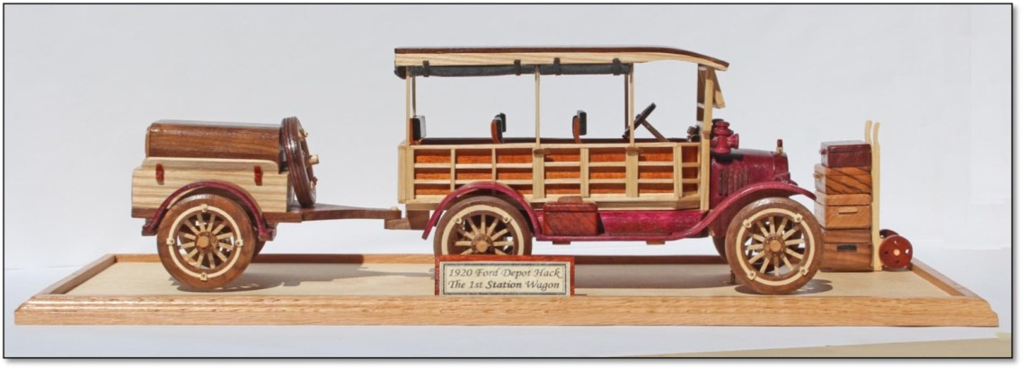 Ford Depot Hack Antique Automobile Woodworking Plan.