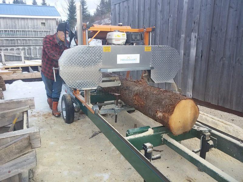 DIY stump tables,milling logs,sawmill