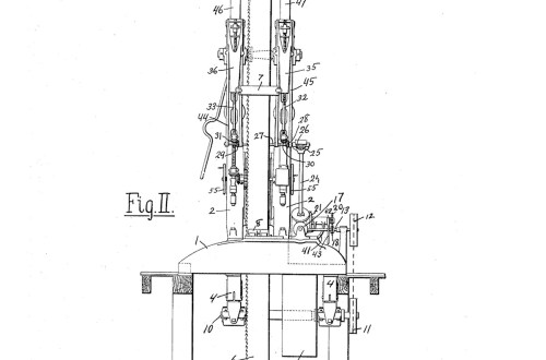 02-08-1907 patent 0978412 1907-02-08 ALLIS-CHALMERS COMPANY, William H Trout improvements to band saw mills construction and arrangement pg 2 of 8