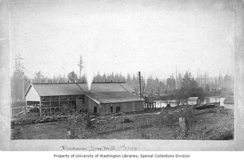 1884 Blackman Brothers sawmill.