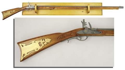 Kentucky Rifle Woodworking Plan