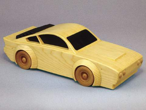 Street Race Car Woodworking Plan