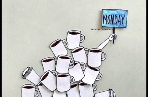 Monday Motivation, Coffee