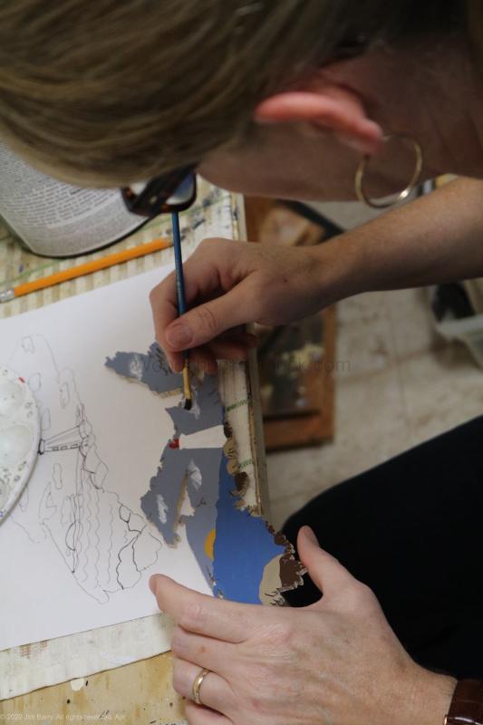 crafts,wood map,map of ns,map of nova scotia,