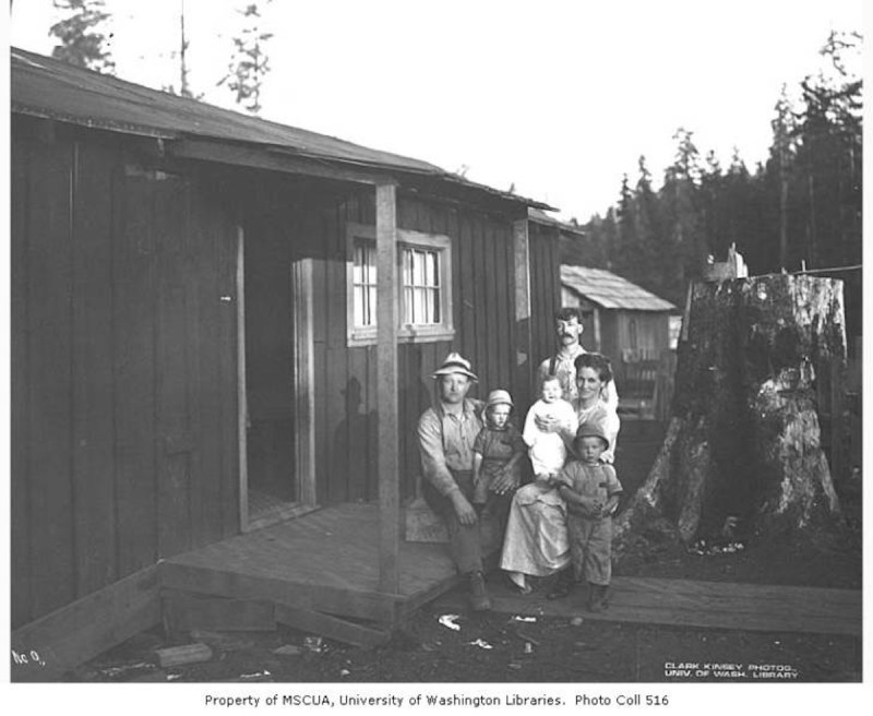 1919 Goodyear Logging Company.
