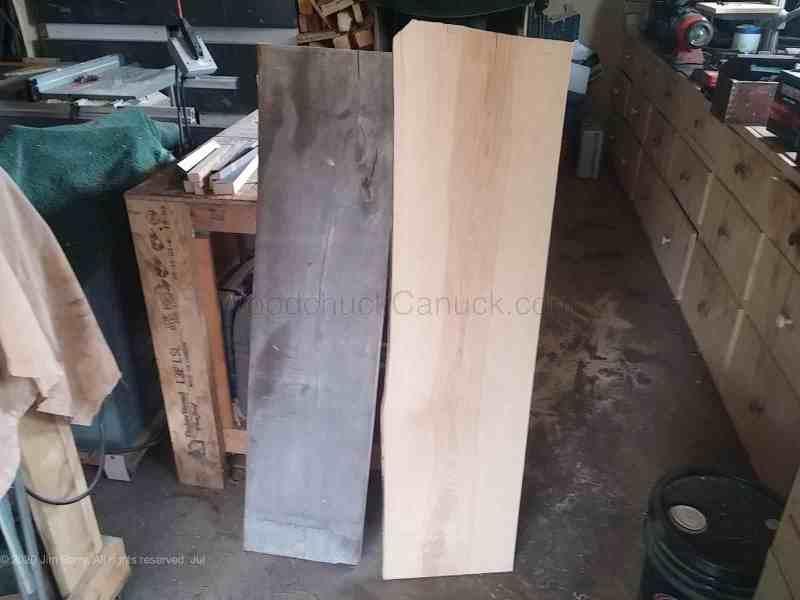 Nice 12 inch wide plank ash.