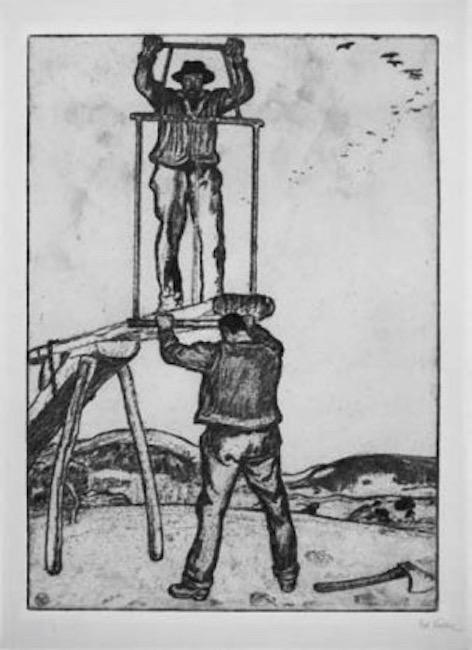 1915 Les scieurs de long