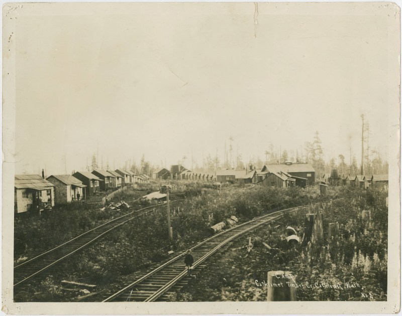 1913 Cathlamet Timber Company Camp 2