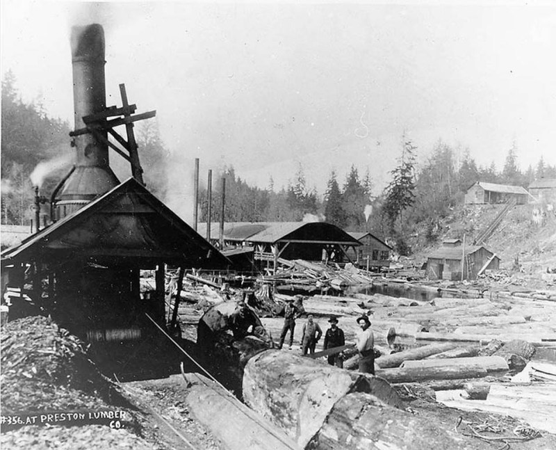 1900s Preston Lumber Co.