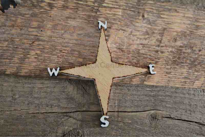 wood map of NS,map of NS,wood map,compass,diy,crafts,